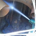 Hidrojateamento para limpar canos entupidos