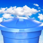 Limpeza de caixa d'água evita proliferação da dengue